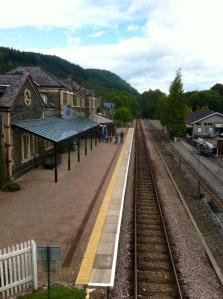 Betws y Coed Railway Station, Snowdonia
